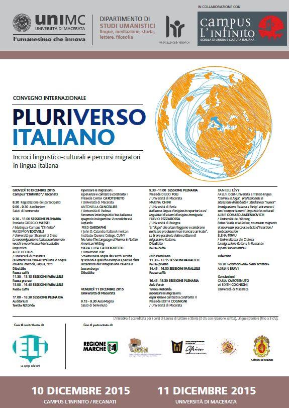 Manifesto Pluriverso italiano